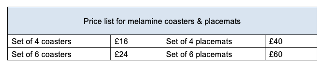 coasters-price-list 2