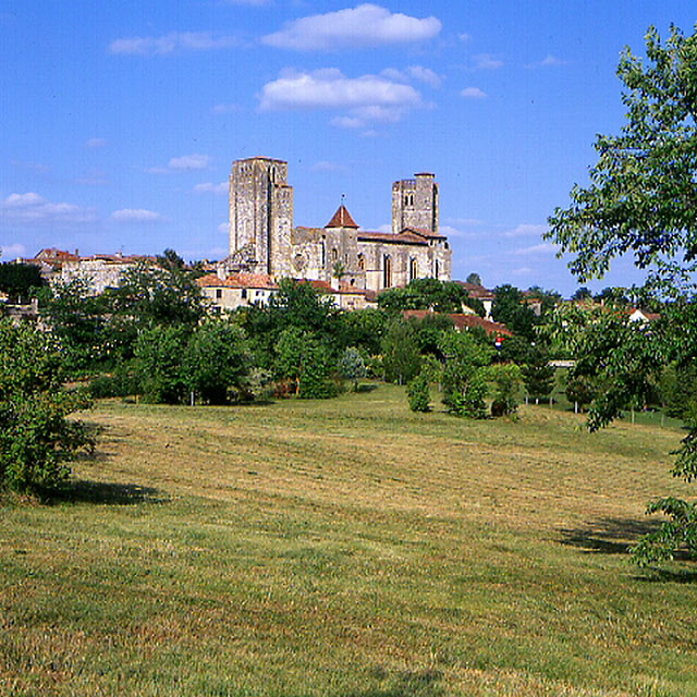 FGE-06-03: Abbey, La Romieu, Gers, France