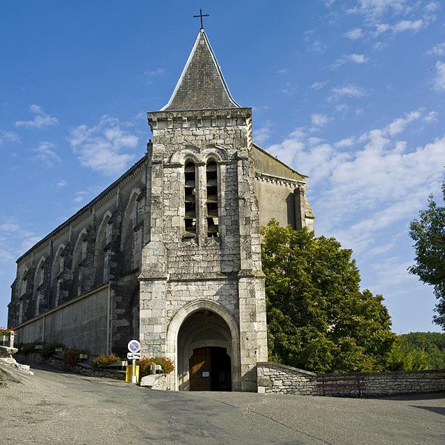 FTG-14-05: Church, Montaigu-de-Quercy