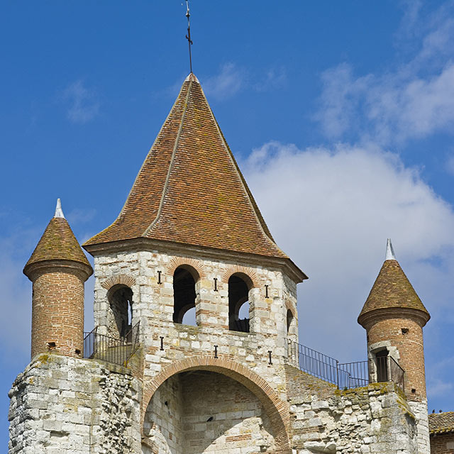 FTG-14-07: Church of St Peirre, Auvillar, Tarn-et-Garonne, France