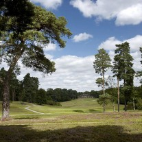 EB-126-07: Swinley Forest, Clubhouse from Behind the 1st Tee