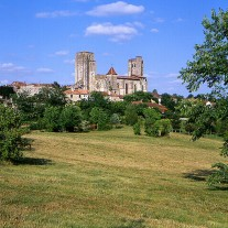 FGE-06-03: Abbey, La Romieu, Gers, France
