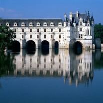FLO-70-12: Chateaux Chenonceau, River Cher