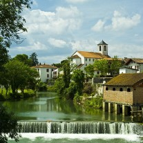 FPY-07-11: River Joyeuse, St Palais, Pyrenees