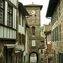 FPY-08-02: Porte d'Espagne/Notre-Dame Bridge, Via Turonensis, St-Jean-Pied-de-Port, Pyrenees