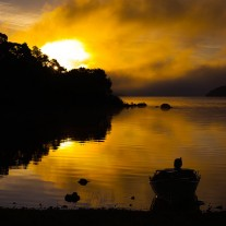 IRG-121-07: Sunrise, Lough Corrib