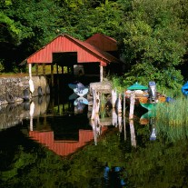 IRG-97-12: Currarevagh Boathouse, Lough Corrib, Oughterard