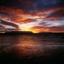 IRS-7-09: Sunrise Over Ben Bulben, Drumcliff Bay, Raghly