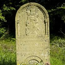 SN-04-11: Stone, nr Linzoan, Via Turonensis, Navarra, Spain