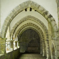 SN-08-03: Holy Sprit Chapel Interior, Roncesvalles, Via Turonensis, Navarra, Spain