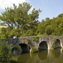 SN-09-04: Bridge, River Ulzama, Via Turonensis, Trinidad de Arre, Navarra, Spain